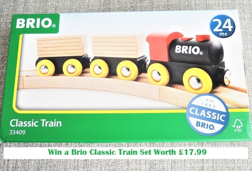 Brio Classic Train Review, Brio, Wooden Toys, Train set, Review, Giveaway, The Frenchie Mummy, Timeless Designs