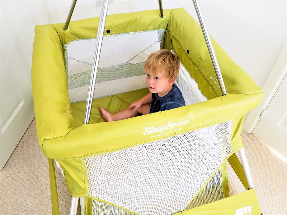 BabyHub SleepSpace Travel Cot Review, BabyHub, Mutli-Use Cot, Travel Cot, Baby Item, Review, Tepee, The Frenchie Mummy