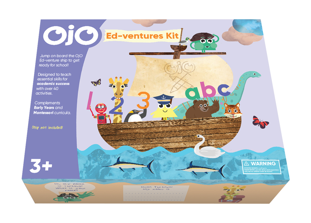 OjO Ed-ventures Kit, Learn with OjO, Educational Toys, Toys in Kit, Learning Kit, The Frenchie Mummy, Back to School Giveaway