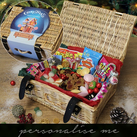 Win a Christmas Sweet Hamper, Sweet & Nostalgic, Christmas Giveaway, Sweet Hampers, Sweet Boxes, the Frenchie Mummy, Personalised Presents