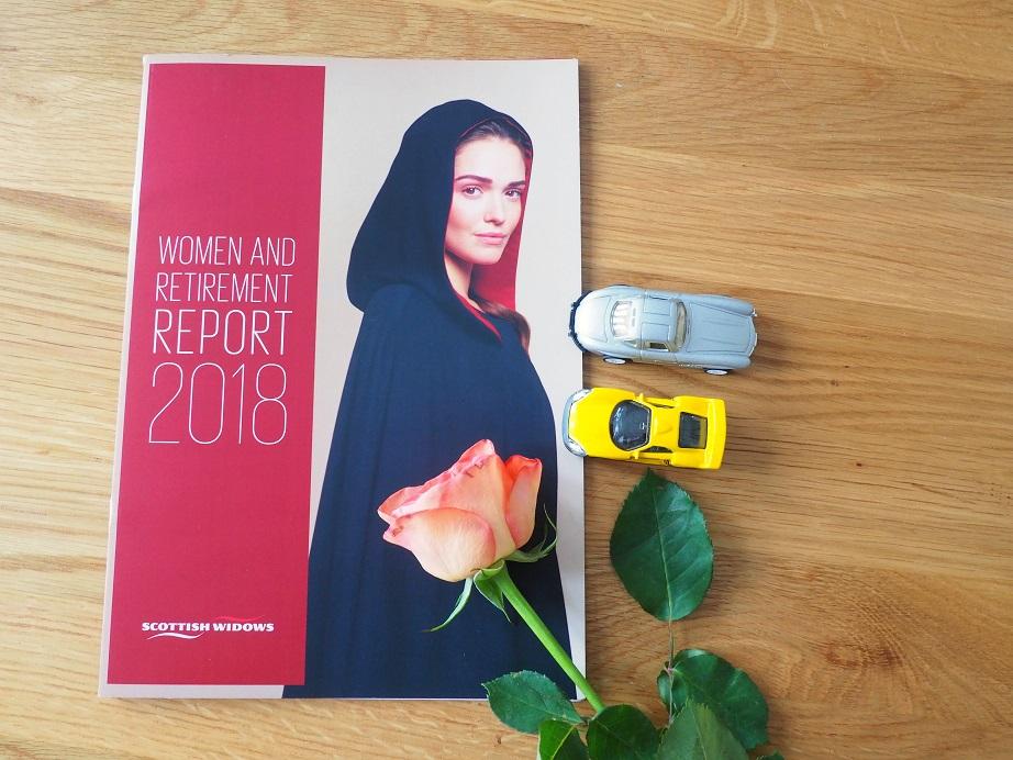 #EmpwerYourFuture, Women and Retirement, Gender Gap, Scottish Widows 2018 Women and Retirement Report, The Frenchie Mummy