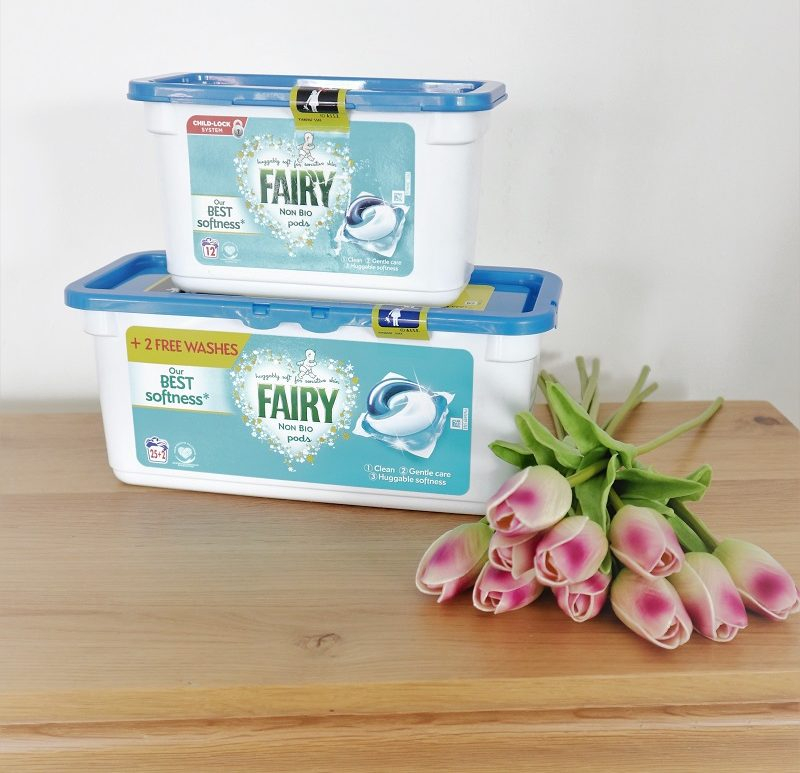 Fairy Non Bio Pods Child Lock Pack, Fairy Non Bio, Laundry Products, Keep Your Children Safe, The Frenchie Mummy