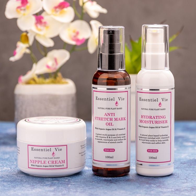 Essentiel Vie Skincare, Natural Skincare for Mums, Pregnancy Skincare, Mother's Day Giveaway, the Frenchie Mummy