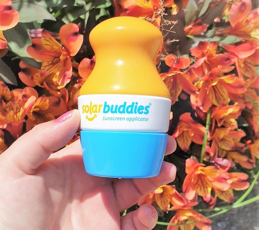 Solar Buddies Review,sunscreen applicator, refillable sun cream applicator, summer vibes, kids item review, win, giveaway, the Frenchie Mummy