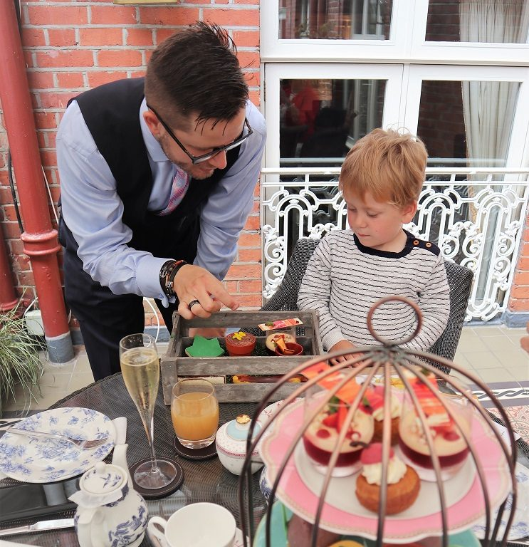 St. Ermin's' Afternoon Tea, London Afternoon Tea, Afternoon Tea Review, St Ermin's Hotel, Mini Gardener Tea, the Frenchie Mummy